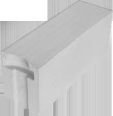 Блок ячеистый стеновой 625х200х250