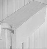 Блок ячеистый стеновой 625х240х250