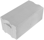 Блок ячеистый стеновой 625х300х250