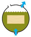 Обработка древесины методом Вакуум-Давление-Вакуум